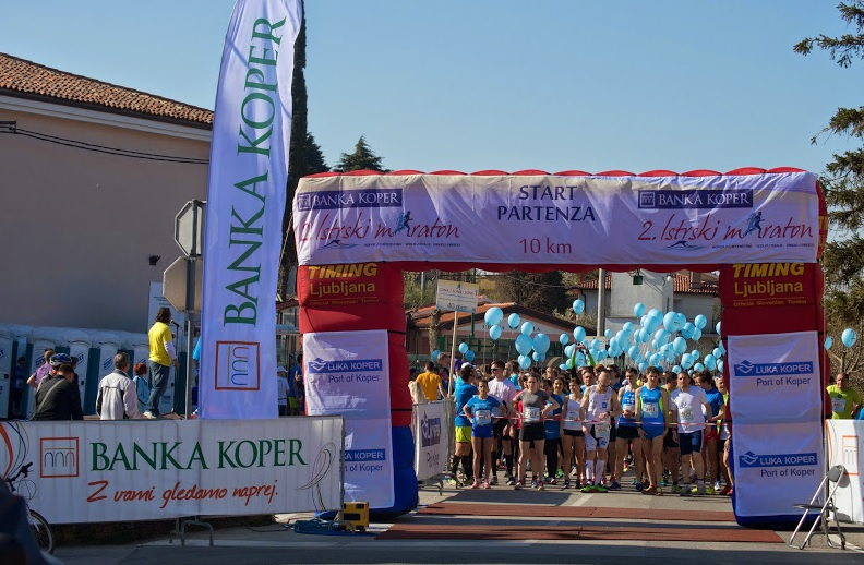 Vabljeni na 3. Istrski maraton