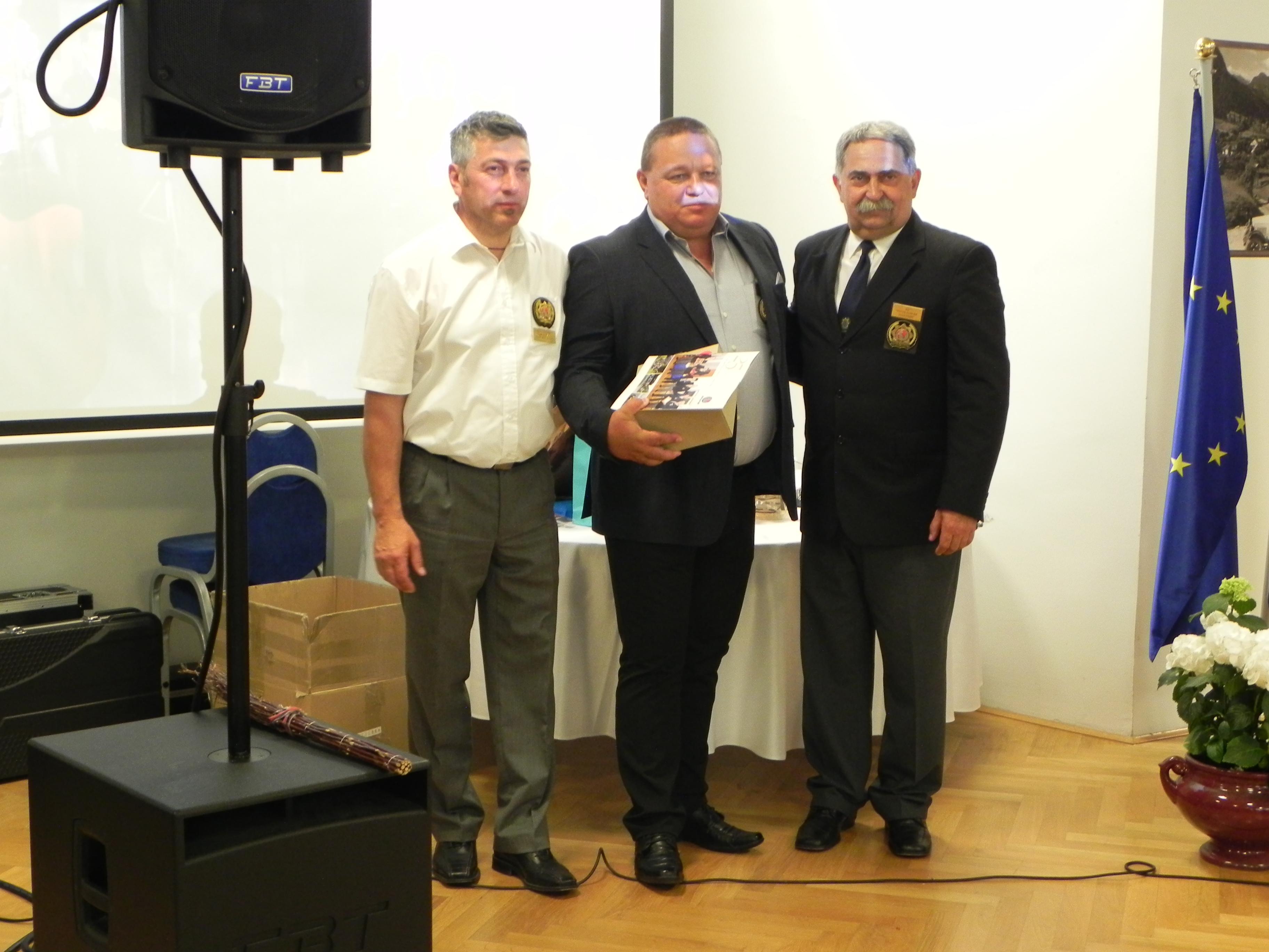 Z gorenjskimi kolegi obeležili njihovo 25. obletnico