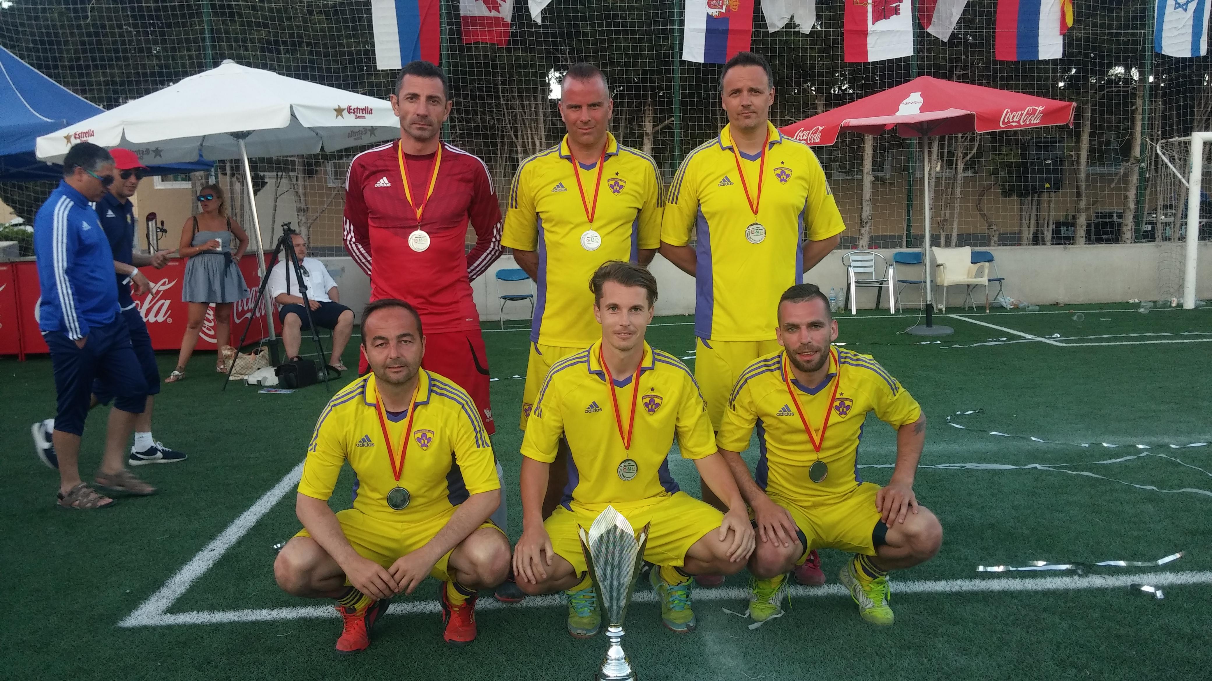 Na nogometnem turnirju na Mallorci zasedli odlično drugo mesto