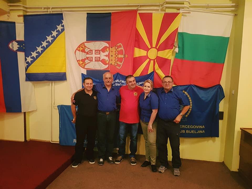 Člani upravnega odbora v srbskem Pirotu